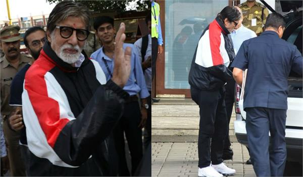 big b shooting for gulabo sitabo in lucknow