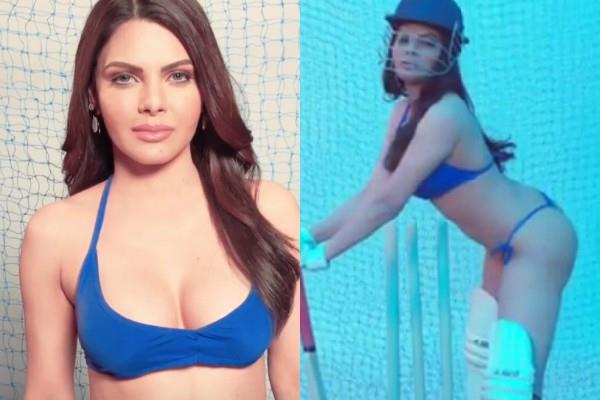 sherlyn chopra support team india