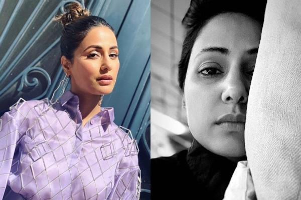 hina khan is unwell
