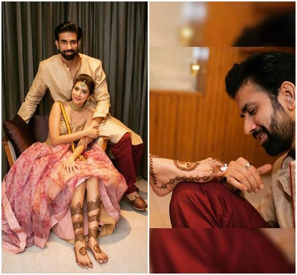 rajeev sen shared romantic picture from her mehndi ceremony