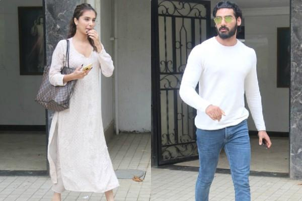 tara sutaria and ahan shetty spotted