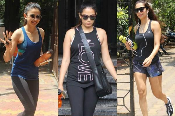bollywood actresses spotted at gym