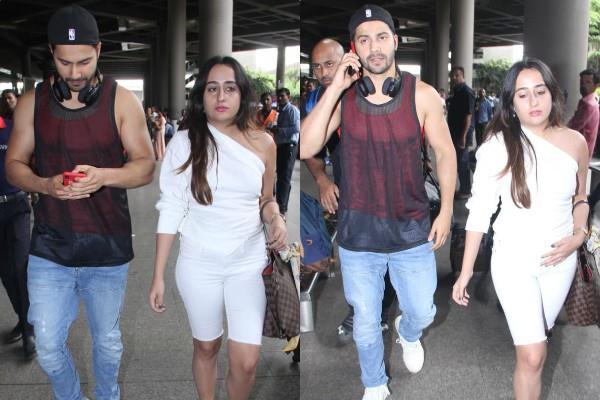 varun dhawan spotted with natasha dalal
