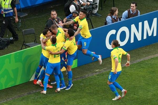 copa america cup peru defeat by brazil in 5 0