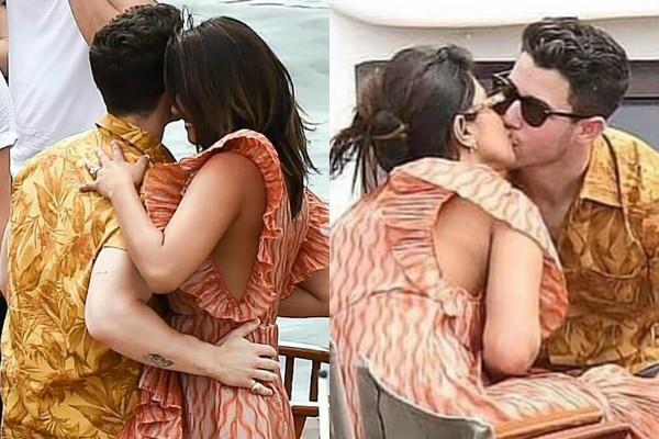 priyanka chopra enjoying party with nick jonas