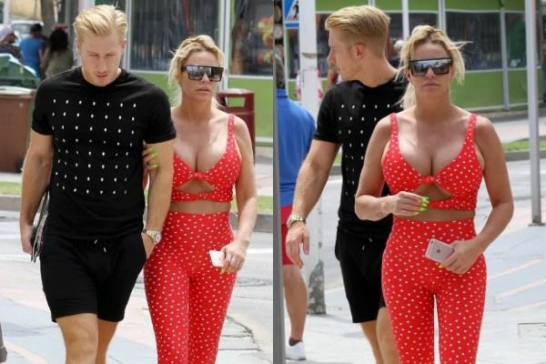 katie price latest pictures with boyfriend kris boyson