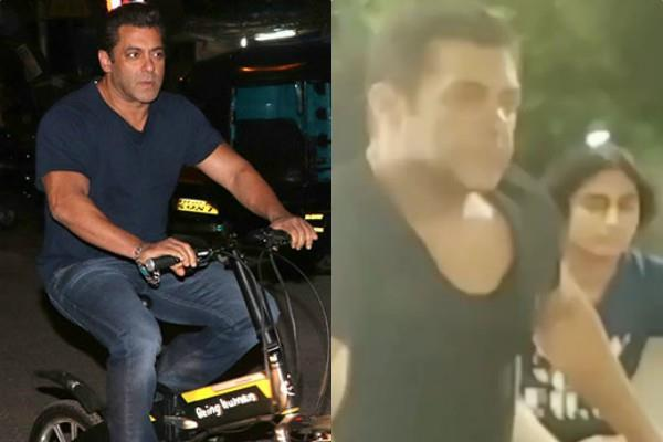 salman khan viral video of cycling