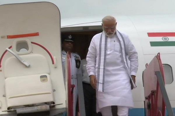 the first foreign trip to india modi will leave for tirupati temple