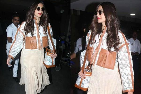 can you guess the cost of sonam kapoor airport look