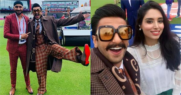 ranveer singh goes trolled during india pakistan match
