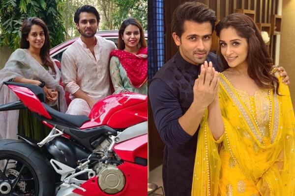 dipika kakkar husband shoaib bought new luxury bike