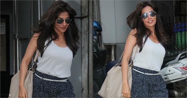 chitrangada singh spotted outside saloon