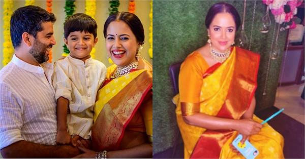 sameera reddy baby shower pictures