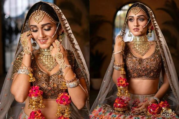 tanya sharma bridal photo shoot pictures