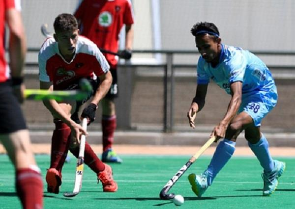 sanjay s two goals india defeated austria by 4 2