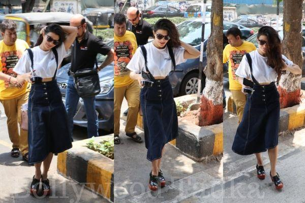 jacqueline fernandez spot with her father