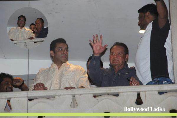 salman khan say eid mubarak to his fans