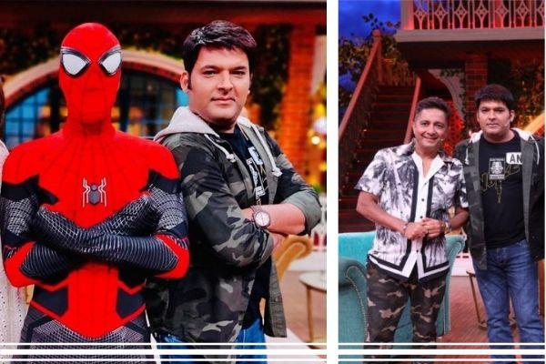 spider man far from home in kapil sharma show