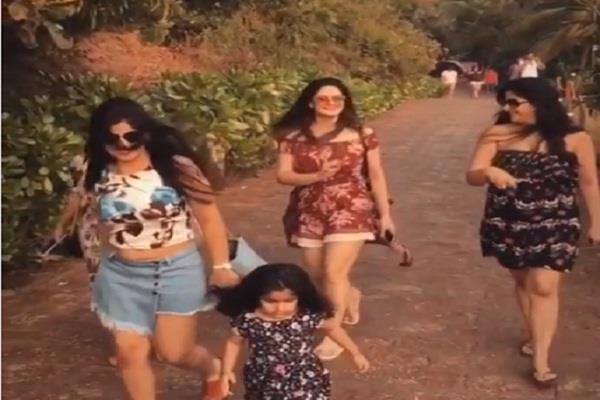 bollywood actress zareen khan share her video