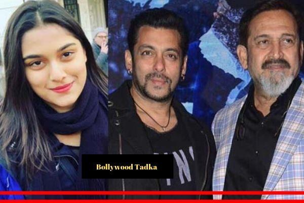 mahesh manjrekar daughter sai work with salman