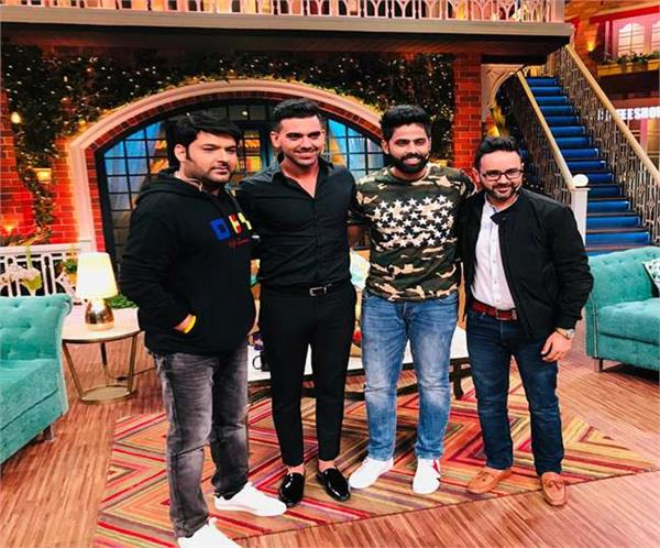 cricketers in the kapil sharma show