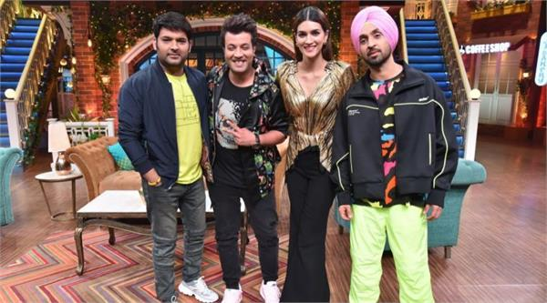 arjun patiyana star cast team in kapil sharma show