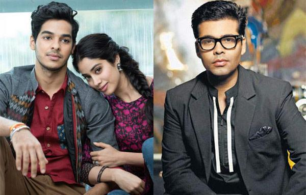 karan johar make movie with ishaan khattar and jhanvi kapoor