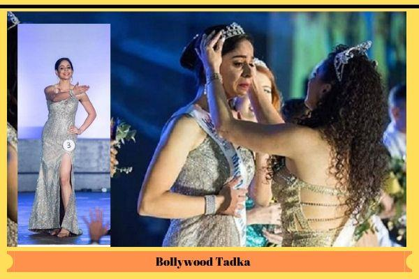 up resident vidisha baliyan won the international beauty pageant for deaf