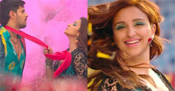 siddharth parineeti movie jabariya jodi first song khadke glassy release
