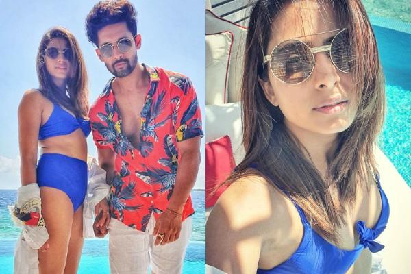 sargun mehta spend quality time with husband ravi dubey in maldives