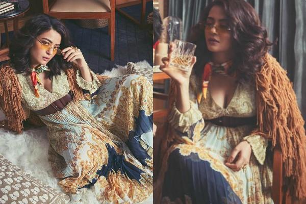 surveen chawla retro look pictures