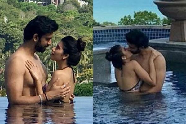 charu asopa romantic pictures with hushand rajeev sen