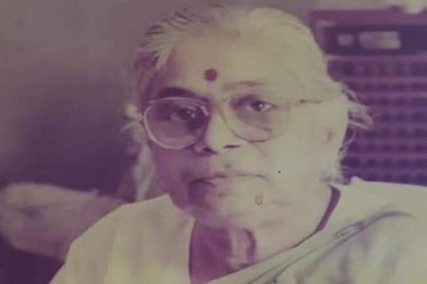 vijaya raje scindia s sister and former mla sushma singh passes away