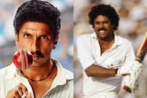 83 first look out ranveer singh looks like kapil dev carbon copy