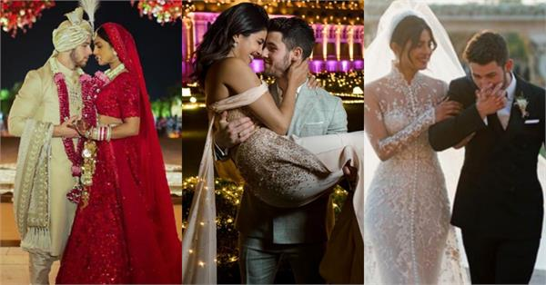 priyanka chopra wedding album on her birthday