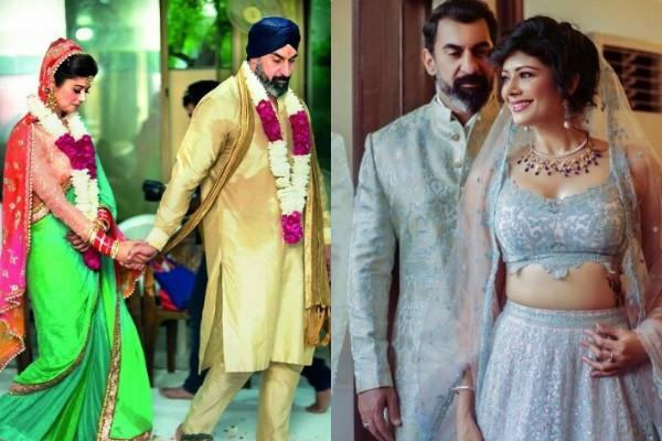 unseen picture of pooja batra nawab shah wedding