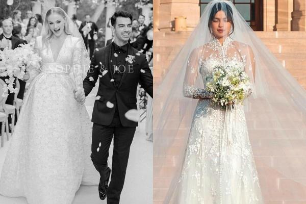 sophie turner wedding gown took 1000 hours to make