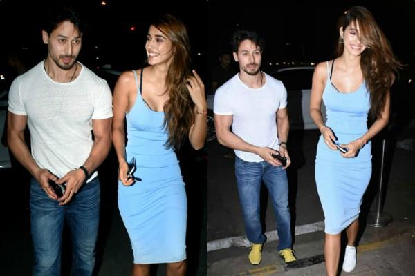 disha patani romantic dinner date with boyfriend tiger shroff