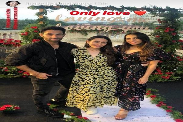 karisma kapoor cousin armaan engaged with girlfriend anissa malhotra