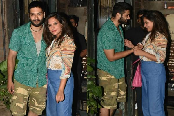 richa chadda dinner date with boyfriend ali fazal