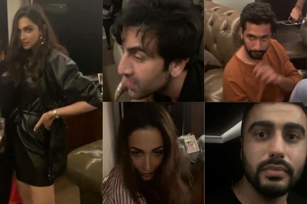 karan johar house party video viral