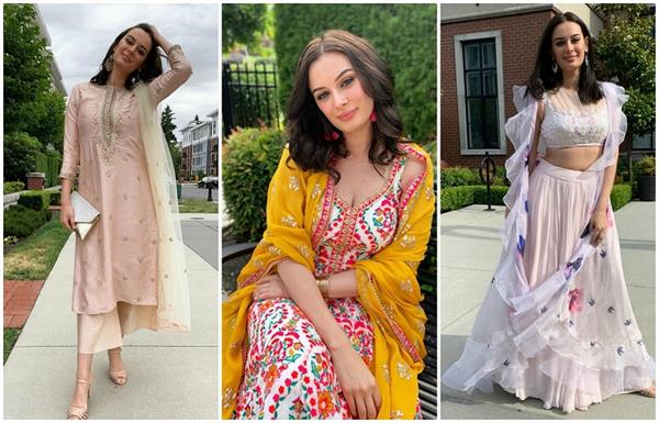 evelyn sharma s 10 traditional dresses