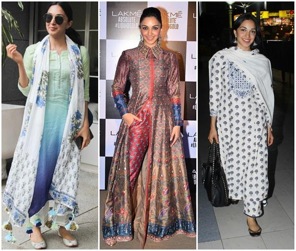 kiara advani s suits designs for mansoon