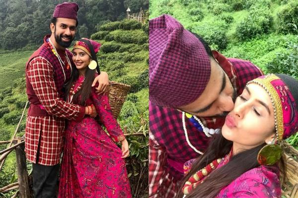 charu asopa rajeev sen enjoy honeymoon trip in darjeeling