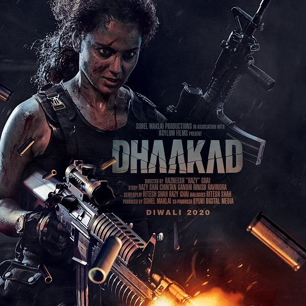 kangana ranaut film dhaakad new poster out