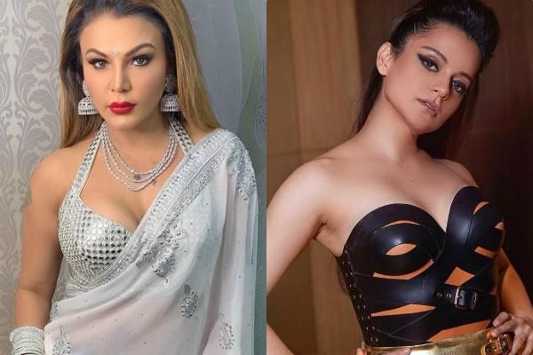 rakhi sawant advices kangana ranaut not to fight with media