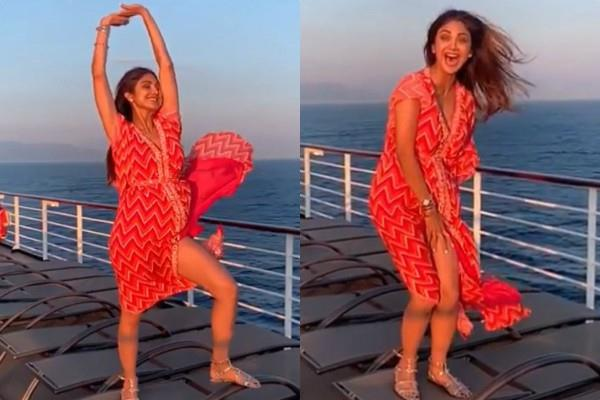 shilpa shetty oops moment video goes viral