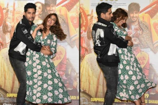 parineeti chopra and sidharth malhotra at trailer launch