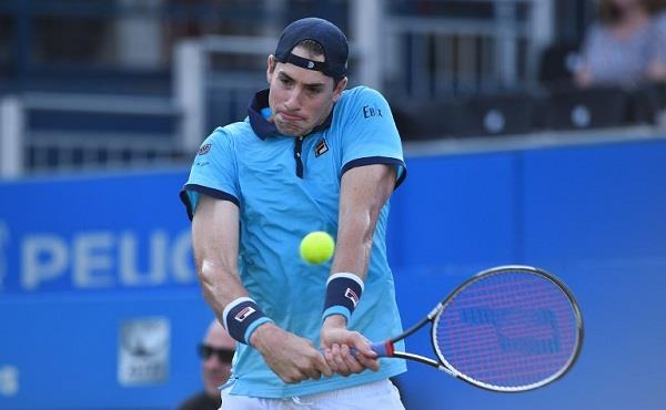 by defeating bablik jan isner won the title of fourth newport atp