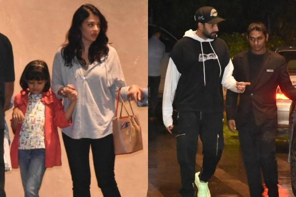 aishwarya abhishek spotted at dinner date with aaradhya